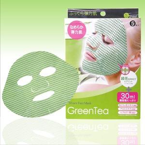 ミューフェイスマスク  <チャ葉エキス> 5枚 【10個セット】