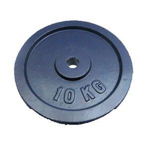 リクリェーションバーベル用オプションプレート 10kg - 拡大画像
