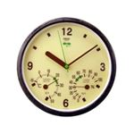 クレセル エコロジー 時計・温度計・湿度計 TC-016E