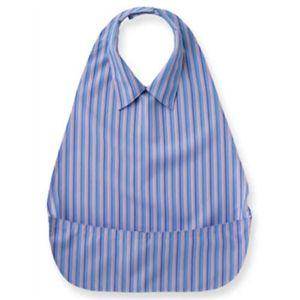 うきうきエプロン 軽・サラシャツ 403779 ブルー