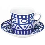 DANSK (ダンスク) アラベスク コーヒーカップ&ソーサー 539480