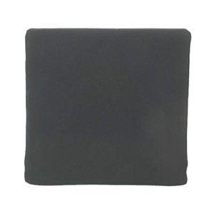 車いす用クッション 背用(TC-010) ブラック - 拡大画像