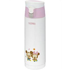 サーモス 調乳用ステンレスボトル 0.5L ディズニーベビー  ピンク JMX-500DS P