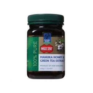 マヌカハニーMGO250+ 緑茶抽出成分配合 500g