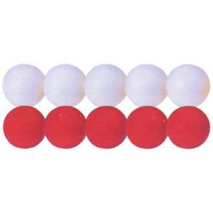 ニチヨー 2色GGボール 10個セット(白5個・赤5個)