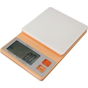 ドリテック デジタルスケール プチスリム 2kg オレンジ KS-232OR