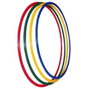 トーエイライト フラットフープ700(直径70cm) 4本1組(青・緑・赤・黄 各1本) B-6067 - 拡大画像