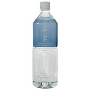 ミネラルウォーター メディープウォーター(medeep water) 1L*12本