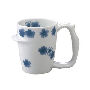 安寿 マグカップ 染付桜ちらし
