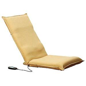 マッサージ座椅子 HM-100(バイブレータータイプ)ベージュ - 拡大画像