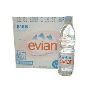 エビアン ペットボトル 1.5L*12本 (正規輸入品)