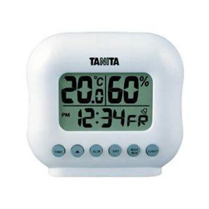タニタ デジタル温湿度計 TT-532-WH ホワイト - 拡大画像