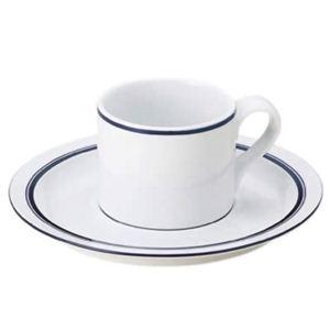 DANSK (ダンスク) ビストロ コーヒーカップ&ソーサー 537730 - 拡大画像