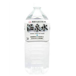 天然アルカリイオン温泉水 2L*9本