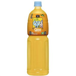 Qoo(クー) とってもオレンジ 1.5L*8本