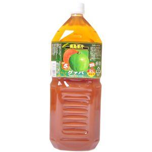 南島果汁 グァバ 2L