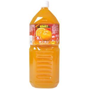 南島果汁 タンカン 2L