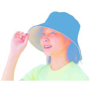コンパクトリバーシブル UVカット帽子 R0041 - 拡大画像