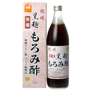 琉球 黒麹 もろみ酢 (無糖) - 拡大画像