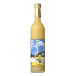 沖縄山原産 シークワーサー 一番搾り 100% 果汁 500ml - 拡大画像
