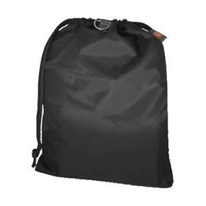 プロト・ワン 消臭ランドリーバッグM(ブラック) - 拡大画像