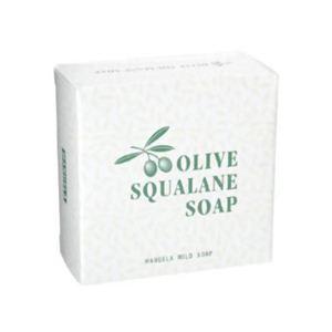 オリーブオイル・スクワラン配合 化粧石鹸