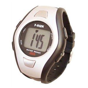 F-RUN(エフラン) ハートメーター(腕時計タイプ心拍計) HM00S シルバー 【ランニングウォッチ】 - 拡大画像