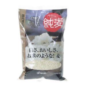 はくばく 純麦(国内産大麦) 600g 【7セット】 - 拡大画像