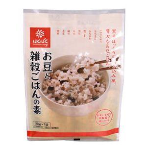 はくばく お豆と雑穀ごはんの素 30g*7袋 【10セット】 - 拡大画像