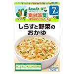 ビーンスターク しらすと野菜のおかゆ 70g*2袋 7ヵ月頃から 【22セット】