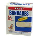 デルガードバンデージ Mサイズ100枚入 【3セット】