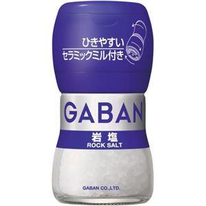 ギャバン 岩塩 ミル付き 【6セット】