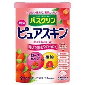 バスクリン ピュアスキン 赤のうるおいW 660g 【6セット】