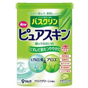 バスクリン ピュアスキン 緑のうるおいW 660g 【6セット】