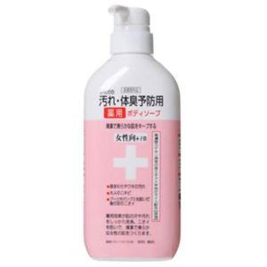(まとめ買い)からだの汚れ・体臭予防用薬用ボディソープ 女性向+子供 450ml×4セット - 拡大画像