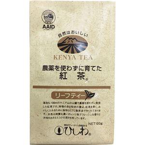 ひしわ 農薬を使わずに育てた紅茶リーフティー 100g 【5セット】