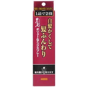 黒彩 ボリュームアップスプレー 黒 【2セット】 - 拡大画像