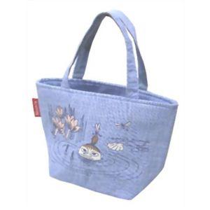 ムーミン 保冷ランチバッグ ブルー 【2セット】 - 拡大画像