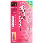 ビゲン 香りのヘアカラー クリーム 5CA(深いカフェブラウン) 【4セット】