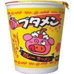【ケース販売】おやつカンパニー ブタメン カレーラーメン 37g*15個 【11セット】