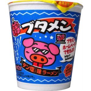 【ケース販売】おやつカンパニー ブタメン タン塩味ラーメン 37g×15個 【11セット】