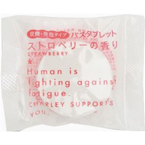 発泡入浴剤 ストロベリー 【16セット】