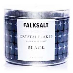 (まとめ買い)地中海クリスタルフレークソルト ブラック 125g×4セット