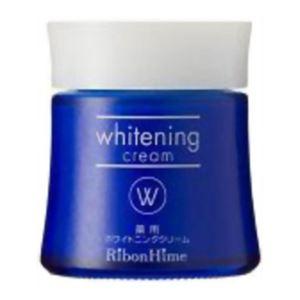 (まとめ買い)【在庫限り】リボンハイム 薬用ホワイトニングクリーム 35g×2セット - 拡大画像