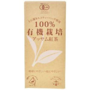 (まとめ買い)ティーブティック 100%有機栽培アッサム紅茶 1.8g×10ティーバッグ×4セット