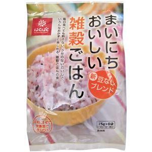 (まとめ買い)はくばく まいにちおいしい雑穀ごはん 25g×6袋×6セットの詳細を見る