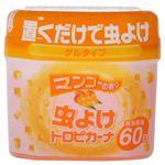 虫よけトロピカル マンゴーの香り 60日用 150g 【5セット】