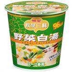 (まとめ買い)飲茶三昧 雲呑春雨スープ 野菜白湯 28g×6個×4セット
