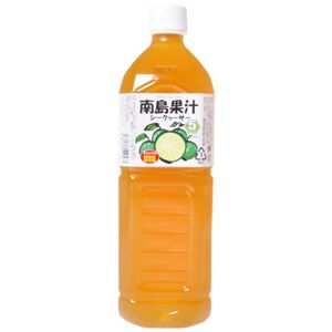南島果汁 シークワーサー 1L 【2セット】