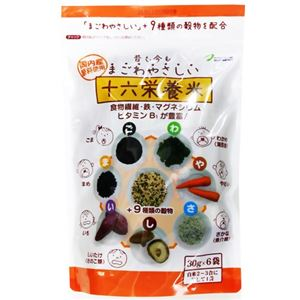 (まとめ買い)十六栄養米 30g×6袋×3セット